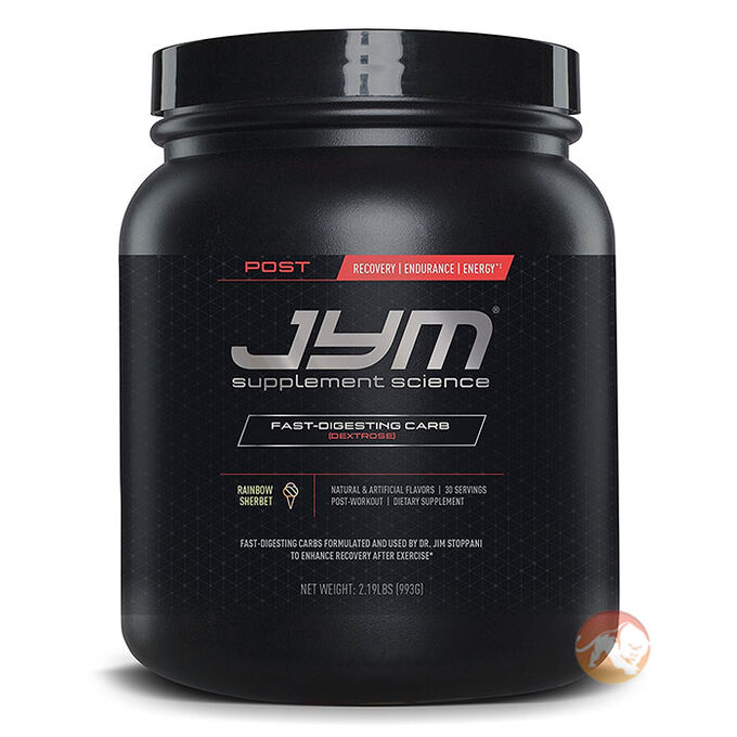 Post JYM Carb 30 Servings Natural Lemon Lime