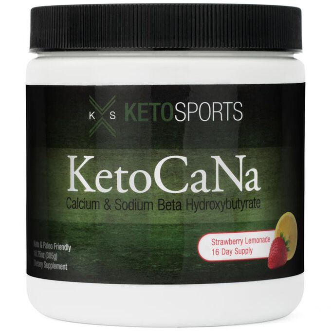 Ketosports KetoCaNa 305g Strawberry Lemonade
