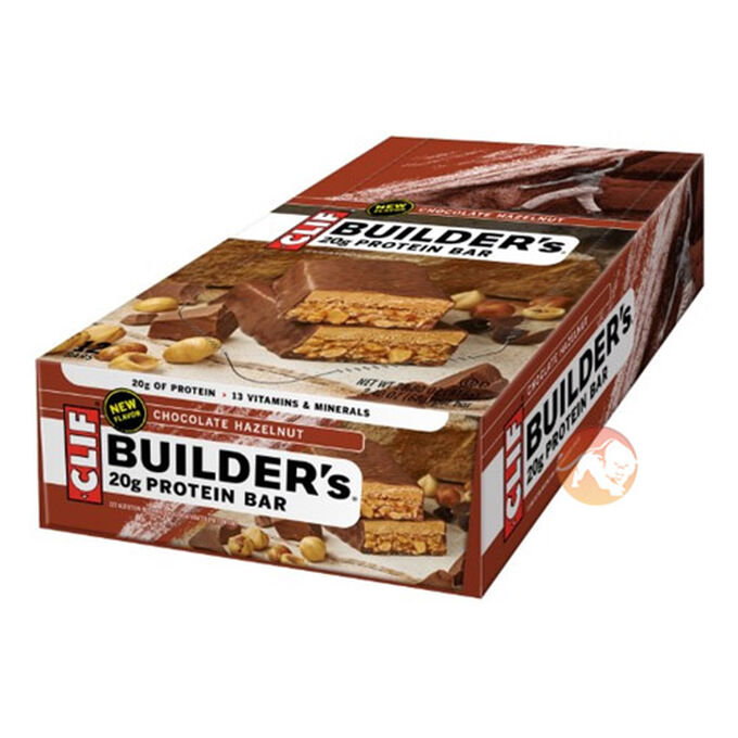 Builder's Bar 12 Bars Cookies and Cream