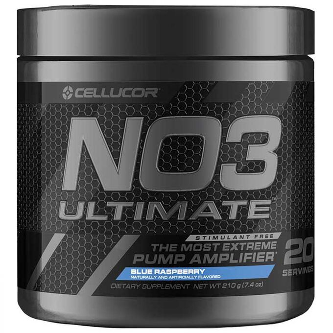 NO3 Ultimate 20 Servings Blue Raspberry