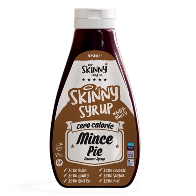 The Skinny Food Co Zero Calorie Mince Pie Syrup 425 ml