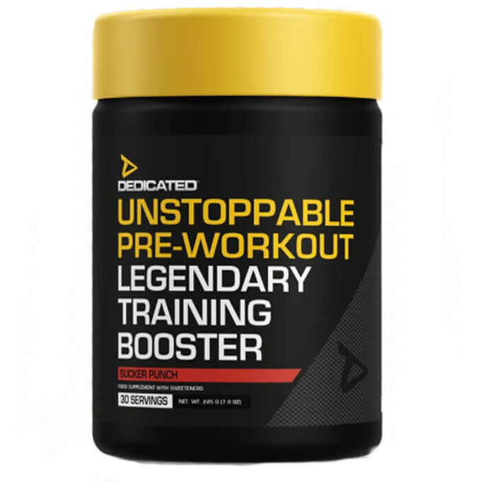 Dedicated Nutrition Unstoppable 30 Servings Sucker Punch