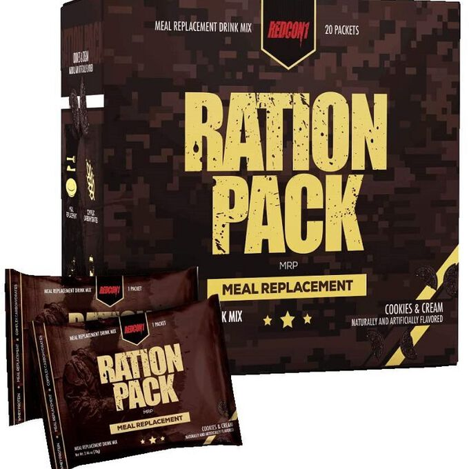 REDCON1 Ration Pack 20 Packs Cookies & Cream