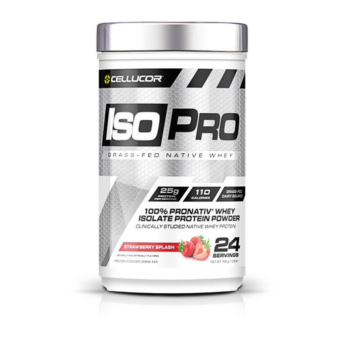 IsoPro 24 Servings Strawberry Splash