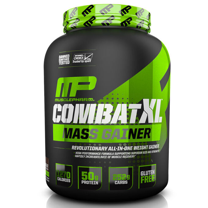 MusclePharm Combat XL Mass Gainer 2.7kg Chocolate