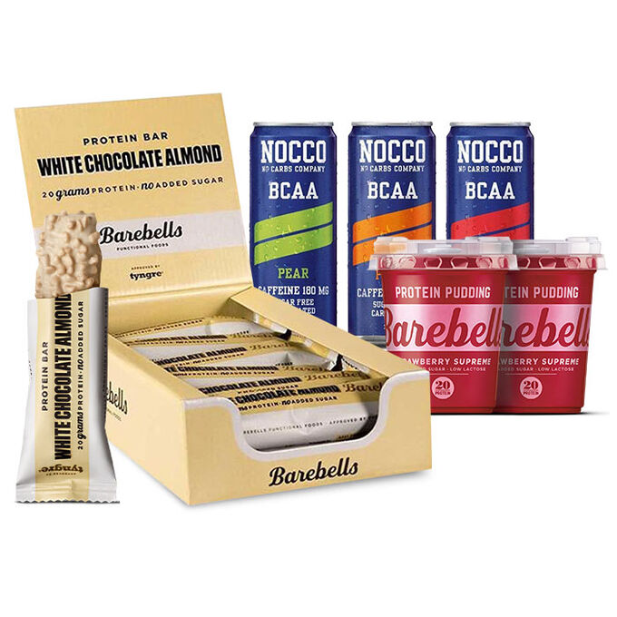 Barebells Protein Bar 12 Bars Cookies and Cream