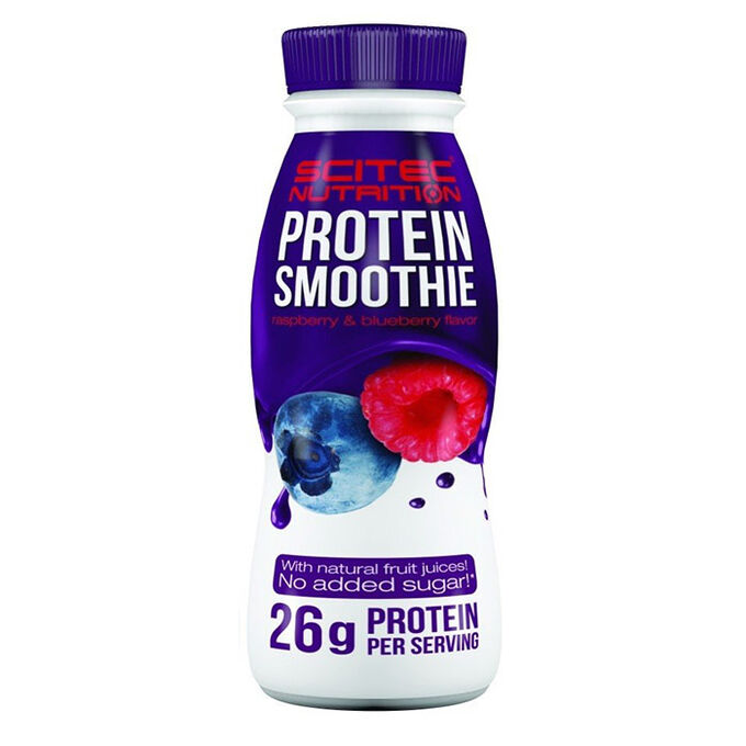 Scitec Protein Smoothie 8 Bottles Raspberry & Blueberry