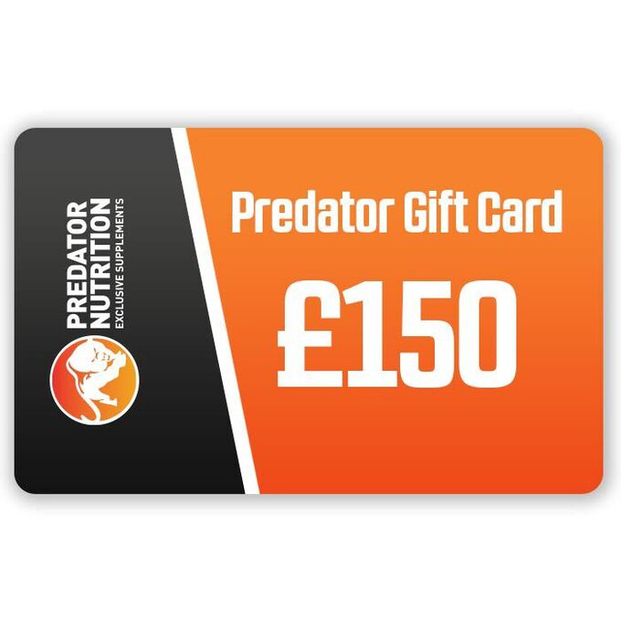 Predator Nutrition Gift Card Worth £150