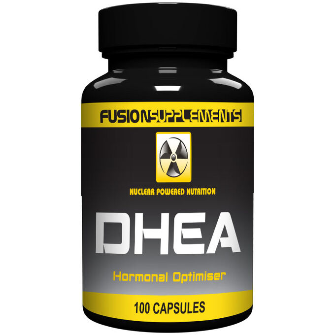 Fusion supplements DHEA 25mg 100 Capsules