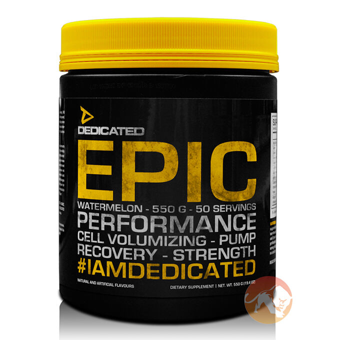 Dedicated Nutrition Epic v2 50 Servings Blood Orange