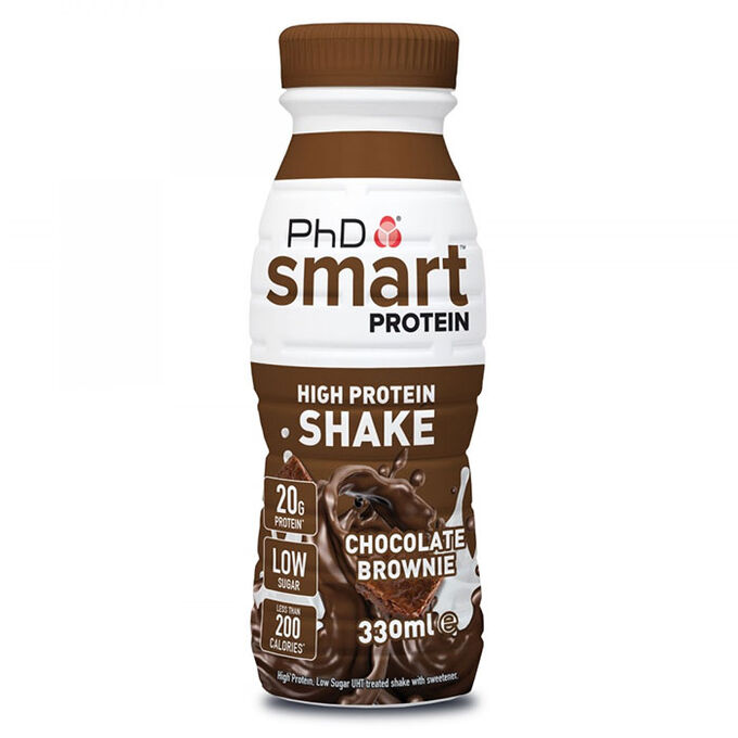 Smart Protein Shake RTD 8 x 330ml Chocolate Brownie