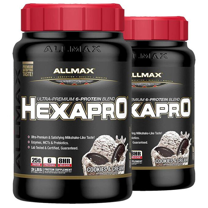 Allmax Nutrition HexaPro 1.37 kg Cookies & Cream