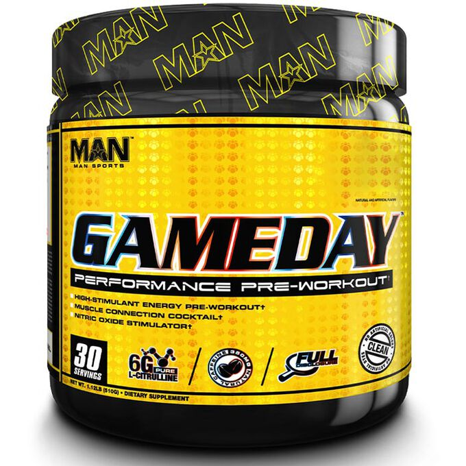 Man Sports Game Day 30 Servings - Pink Lemonade