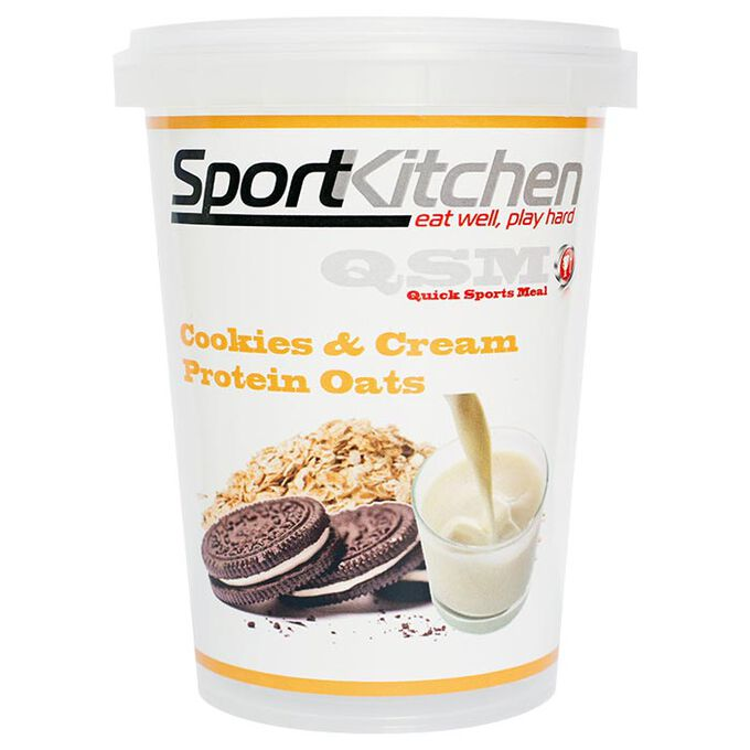 Sports Kitchen Sport Kitchen Protein Oats Cookies and Cream - Protein Meal