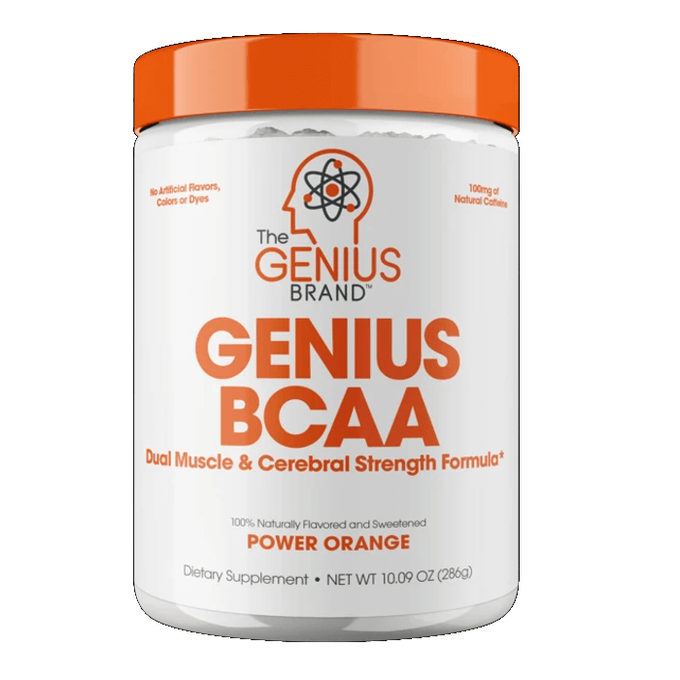 The Genius Brand Genius BCAA 21 Servings Power Orange
