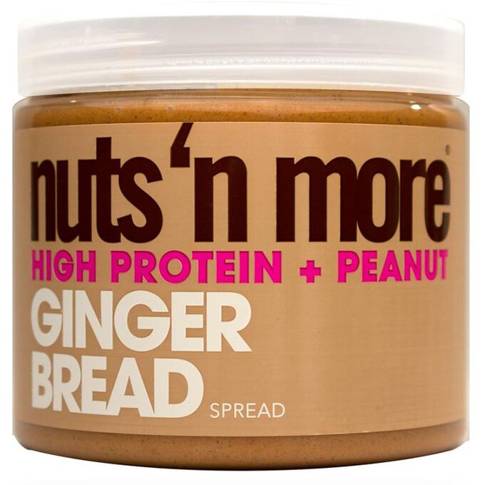 Nuts n More Peanut Butter 454g Gingerbread