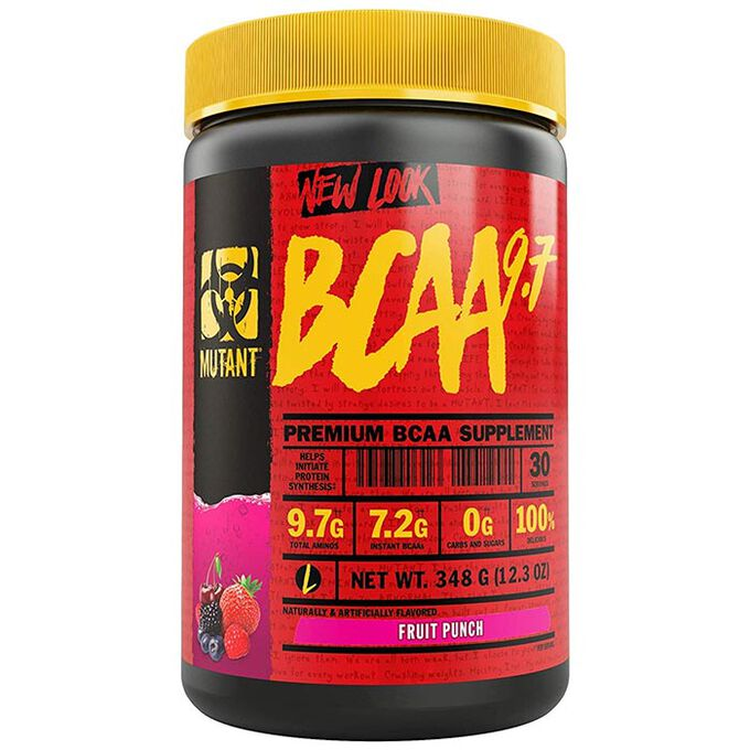 Mutant BCAA 9.7 30 Servings Fruit Punch