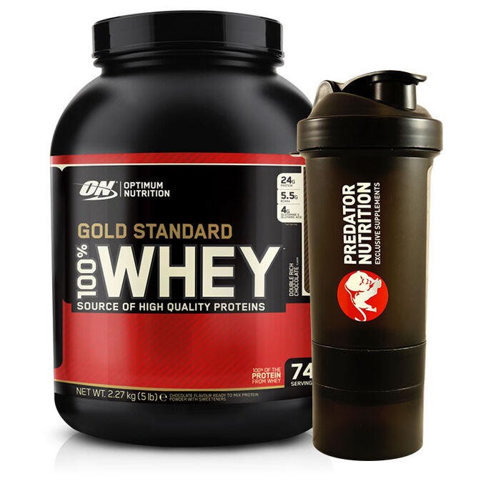 Gold Standard 100% Whey 2.27kg Double Chocolate