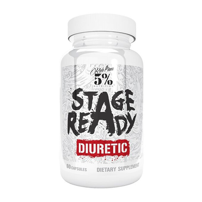 5% Rich Piana Stage Ready Diuretic 60 Capsules