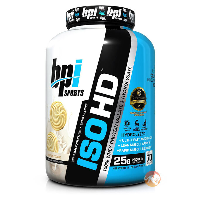 Iso-HD 10 Sevings Peanut Butter Candy Bar