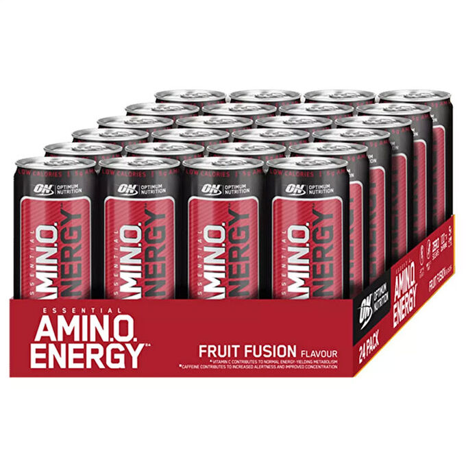 Optimum Nutrition Amino Energy RTD 24 x 330ml Fruit Fusion