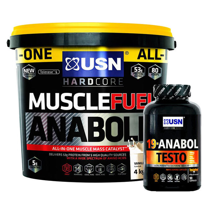 Muscle Fuel Anabolic 4kg Caramel Popcorn