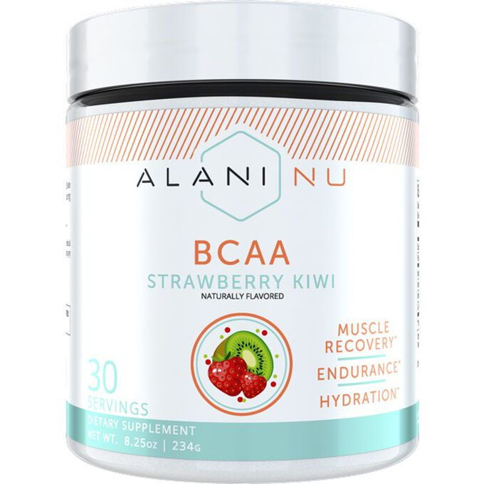Alani Nu Alani Nu BCAA Amino Acid Powder 30 Servings Strawberry Kiwi