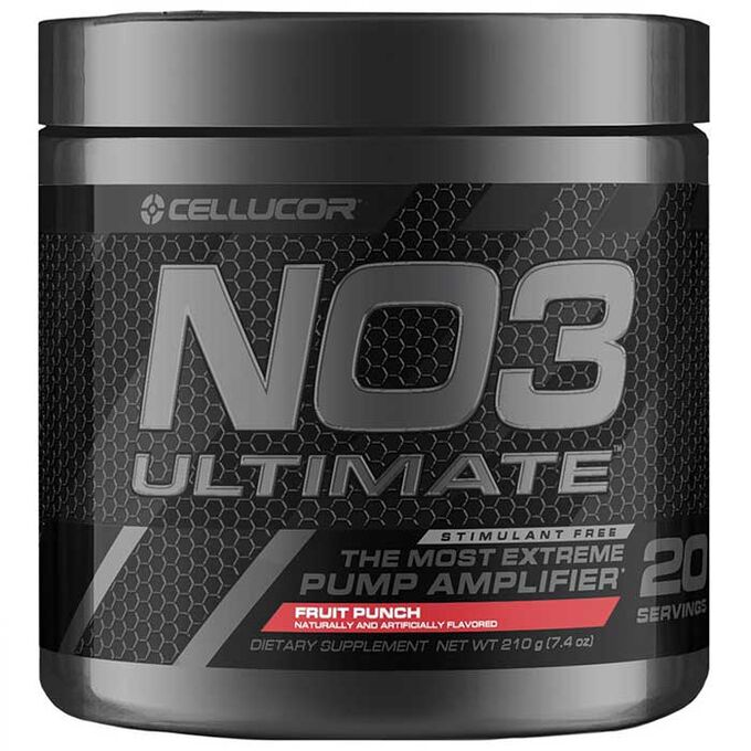 Cellucor NO3 Ultimate 20 Servings Fruit Punch