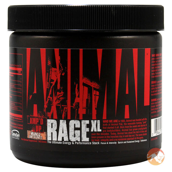 Animal Rage XL 30 Servings - Lemon