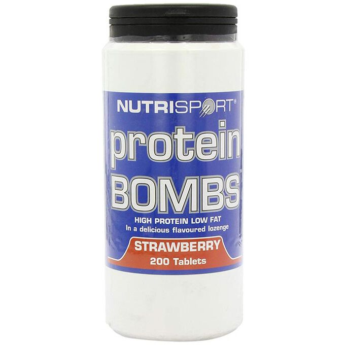 Protein Bombs 200 Tablets Strawberry