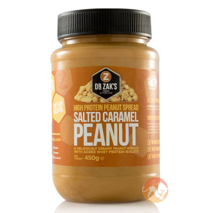 High Protein Peanut Spread 450g Salted Caramel