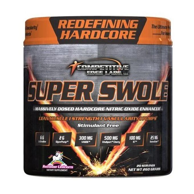 Competitive Edge Labs Super Swole 20 Servings Cosmic Candy