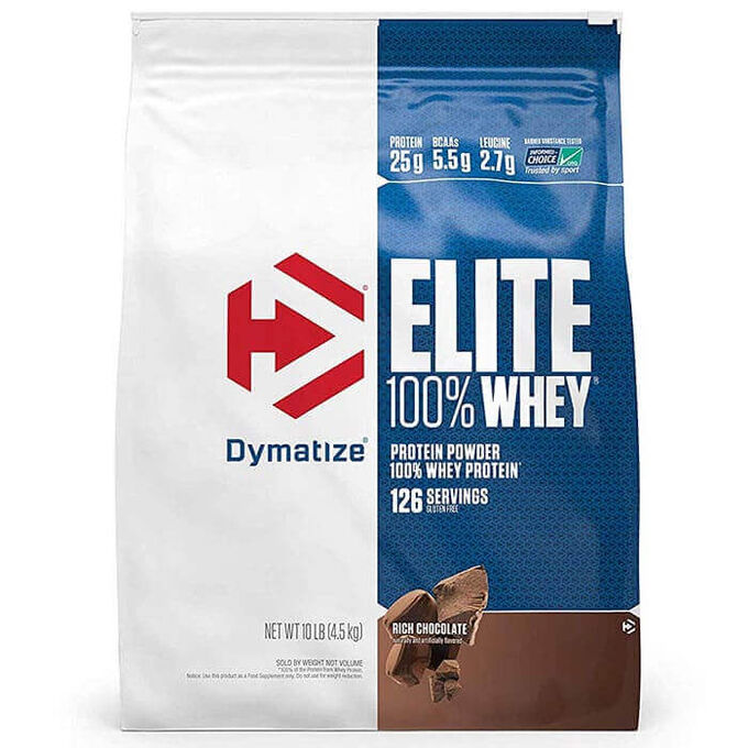 Dymatize Elite Whey 4.54kg Strawberry Blast