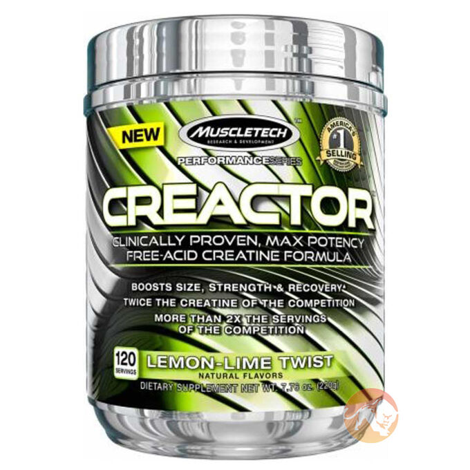 Creactor 120 Servings Lemon Lime