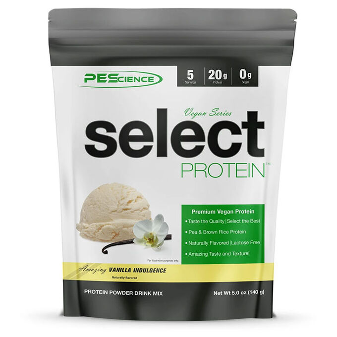 PEScience Select Protein Vegan Series 5 Servings Wild Berry