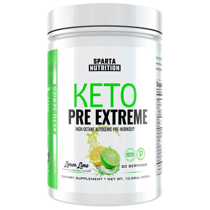 Keto Pre Extreme 20 Servings Lemon Lime