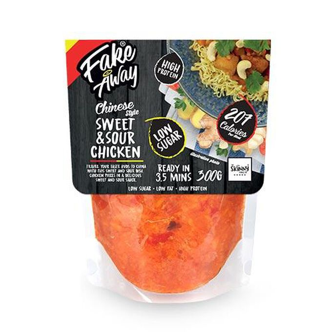 The Skinny Food Co Fake Away Chinese Style Sweet & Sour Chicken Ready Meal