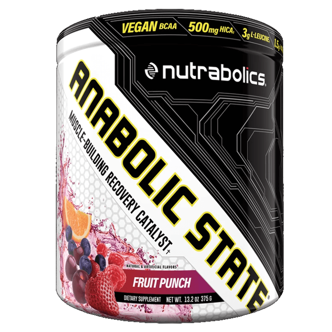 Nutrabolics Anabolic State 30 Servings Fruit Punch
