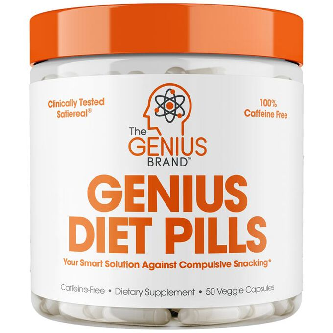 The Genius Brand Genius Diet Pills 50 Capsules