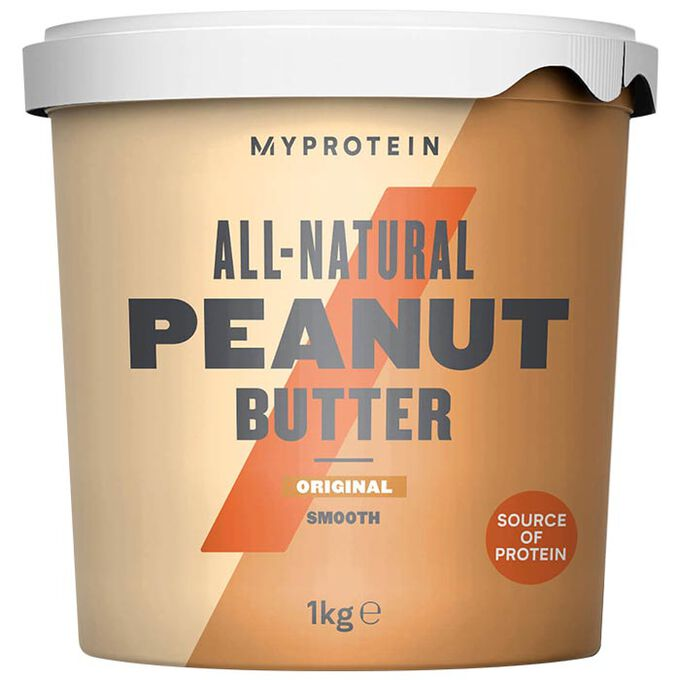 Myprotein Peanut Butter Natural 1kg Smooth