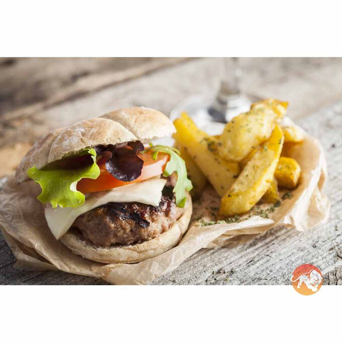 Kezie Foods Camel, Cumin & Apricot Burgers (2 in a 220g Pack)