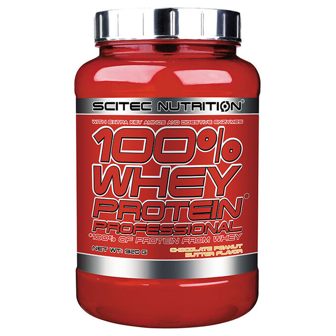 Scitec Nutrition 100% Whey Protein Professional 920g Chocolate Peanut Butter