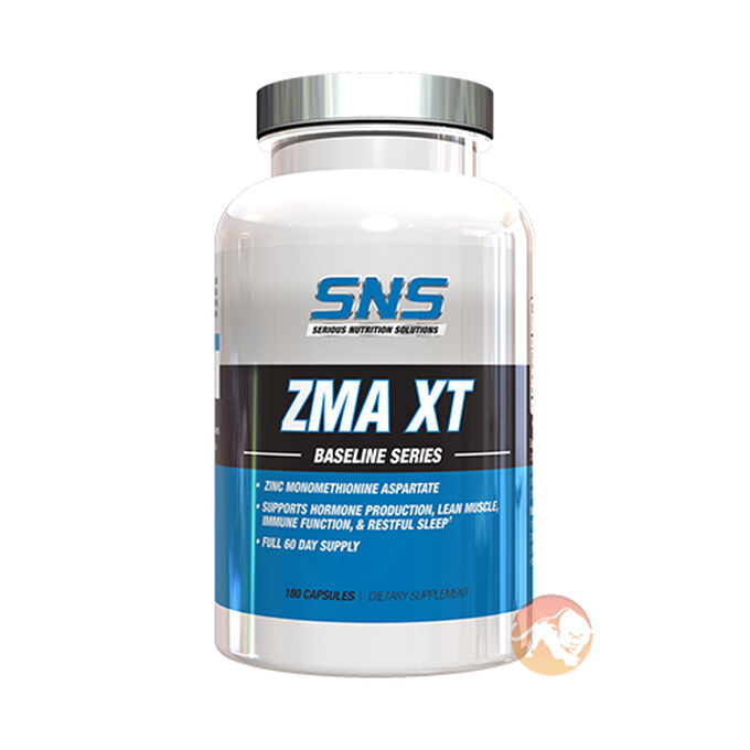 Serious Nutrition Solutions ZMA XT 180 Caps