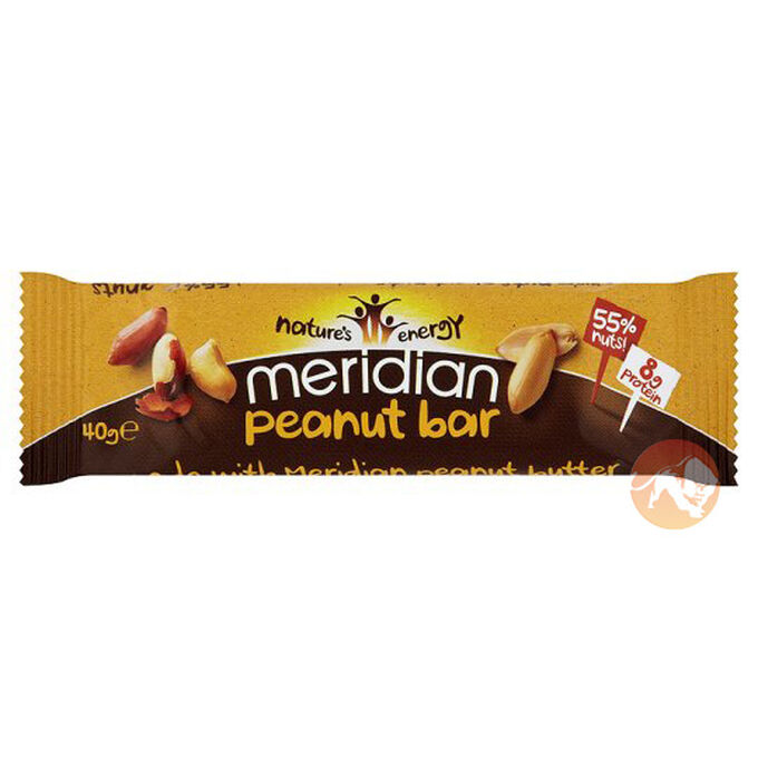 Meridian Foods Single Bar - Peanut Bar