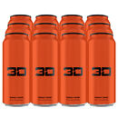 3D Energy Drink 12 Cans Orange