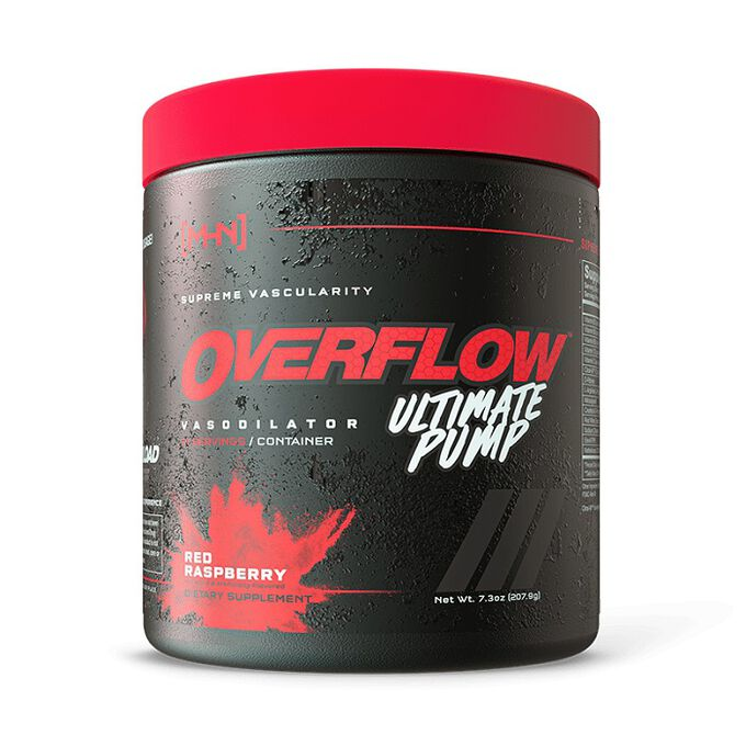 NTEL Nutra Overflow Ultimate Pump 21 Servings Red Raspberry