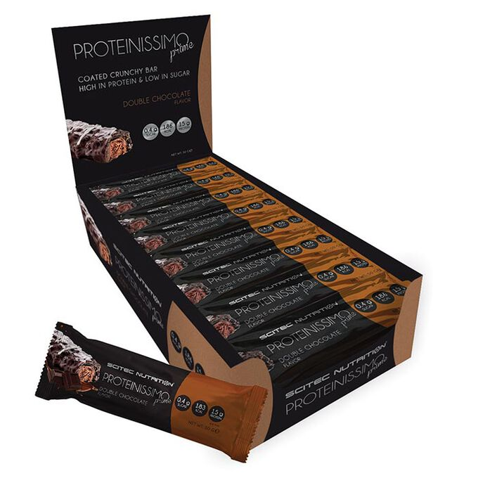 Scitec Nutrition Proteinissimo Prime 24 Bars Double Chocolate
