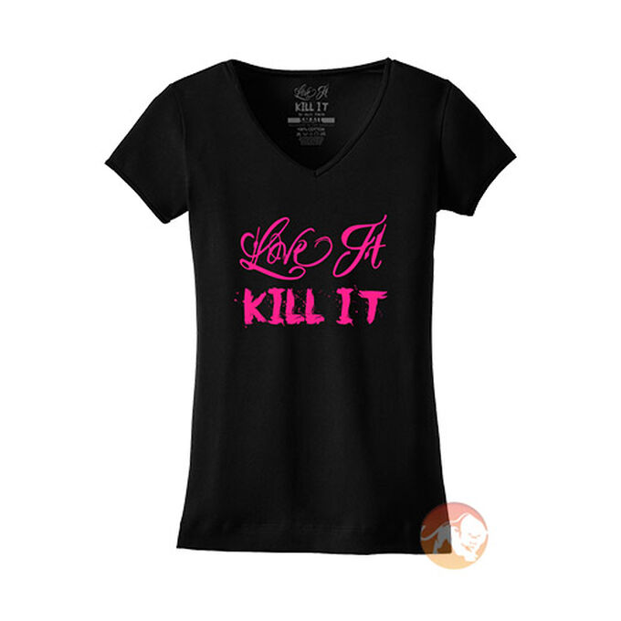 Love It Kill It - 5% Women's V Neck T Shirt
