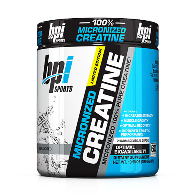 BPI Micronized Creatine 60 Servings