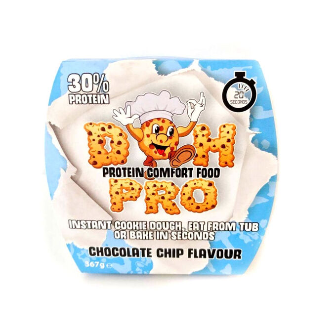 Doh Pro Cookie Dough 367g Chocolate Chip 30% Protein